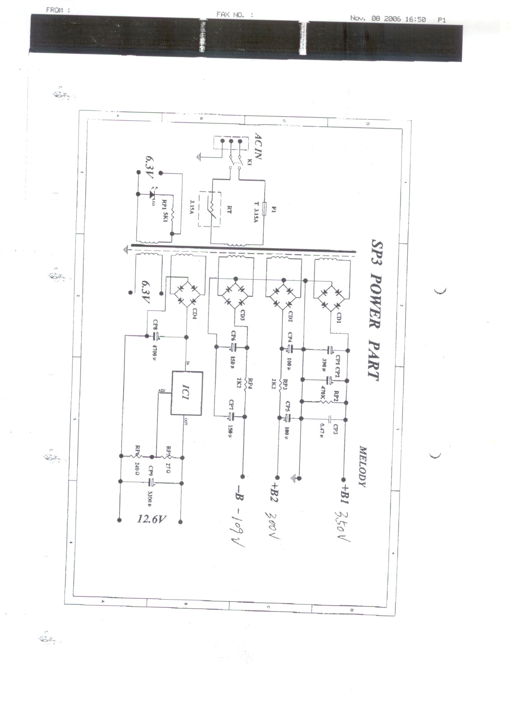Onix Sp3 Valve Audio Amplifier Technical Specification Wikipedia For Power Supply Schematic Click